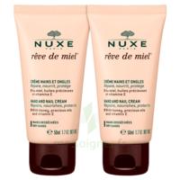 Rêve De Miel® Crème Mains Et Ongles 2*50ml à Saint-Médard-en-Jalles