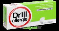 Drill 10 Mg Comprimés à Sucer Allergie Cétirizine Plq/7 à Saint-Médard-en-Jalles