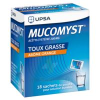 Mucomyst 200 Mg Poudre Pour Solution Buvable En Sachet B/18 à Saint-Médard-en-Jalles