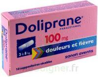 Doliprane 100 Mg Suppositoires Sécables 2plq/5 (10) à Saint-Médard-en-Jalles