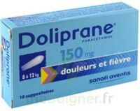 Doliprane 150 Mg Suppositoires 2plq/5 (10) à Saint-Médard-en-Jalles