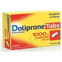 Dolipranetabs 1000 Mg Comprimés Pelliculés Plq/8 à Saint-Médard-en-Jalles
