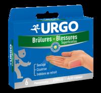 Urgo Brulures-blessures Petit Format X 6 à Saint-Médard-en-Jalles