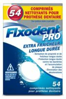 Fixodent Pro Comprimés Nettoyant Fraîcheur Longue Durée Pour Prothèse Dentaire B/54 à Saint-Médard-en-Jalles