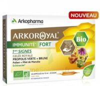 Arkoroyal Immunité Fort Solution Buvable 20 Ampoules/10ml à Saint-Médard-en-Jalles
