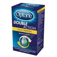 Optone Double Action Solution Oculaire Yeux Irrités Fl/10ml à Saint-Médard-en-Jalles