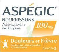 Aspegic Nourrissons 100 Mg, Poudre Pour Solution Buvable En Sachet-dose à Saint-Médard-en-Jalles