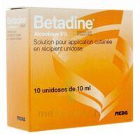 Betadine Alcoolique 5 % S Appl Cut En Récipient Unidose B/10 à Saint-Médard-en-Jalles