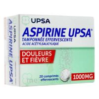 Aspirine Upsa Tamponnee Effervescente 1000 Mg, Comprimé Effervescent à Saint-Médard-en-Jalles