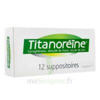 Titanoreine Suppositoires B/12 à Saint-Médard-en-Jalles