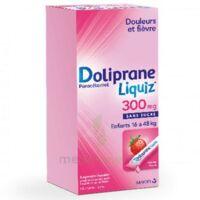 Dolipraneliquiz 300 Mg Suspension Buvable En Sachet Sans Sucre édulcorée Au Maltitol Liquide Et Au Sorbitol B/12 à Saint-Médard-en-Jalles