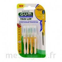 Gum Trav - Ler, 1,3 Mm, Manche Jaune , Blister 4 à Saint-Médard-en-Jalles
