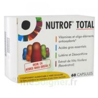 Nutrof Total Caps Visée Oculaire B/60 à Saint-Médard-en-Jalles
