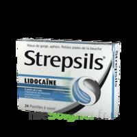 Strepsils Lidocaïne Pastilles Plq/24 à Saint-Médard-en-Jalles