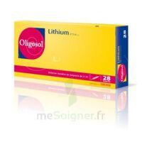 Oligosol Lithium Solution Buvable En Ampoule Ou En Récipient Unidose 28amp/2ml à Saint-Médard-en-Jalles