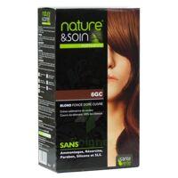Nature & Soin Kit Coloration 6gc Blond Foncé Doré Cuivré à Saint-Médard-en-Jalles