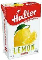 Halter Sans Sucre Bonbon Citron B/40g à Saint-Médard-en-Jalles