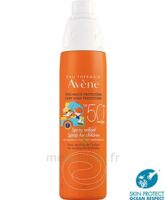 Avène Eau Thermale Solaire Spray Enfant 50+ 200ml à Saint-Médard-en-Jalles