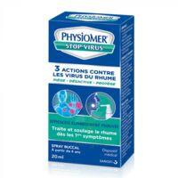 Physiomer Stop Virus Spray Buccal Fl/20ml à Saint-Médard-en-Jalles