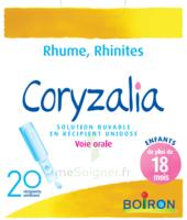 Boiron Coryzalia Solution Buvable Unidose B/20 à Saint-Médard-en-Jalles