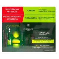 René Furterer Triphasic Progressive Sérum Antichute Coffret 8 Flacons X 5,5ml + Shampoing Stimulant 100 Ml à Saint-Médard-en-Jalles
