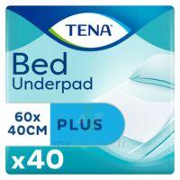 Tena Bed Plus Alèze Intraversable Usage Unique 40x60cm Sachet/40 à Saint-Médard-en-Jalles