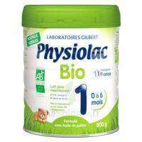 Physiolac Bio 1 Lait En Poudre B/800g à Saint-Médard-en-Jalles